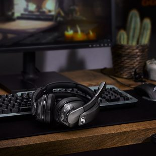 New Sennheiser Headset Offers 100 Hours Of Wireless Gaming
