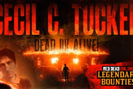Legendary Bounty Cecil C. Tucker Now in Red Dead Online