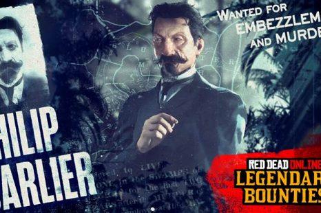 Legendary Bounty Philip Carlier Now in Red Dead Online