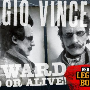 Legendary Bounty Sergio Vicenza Coming to Red Dead Online