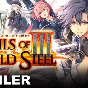 The Legend of Heroes: Trails of Cold Steel III Gets Launch Trailer