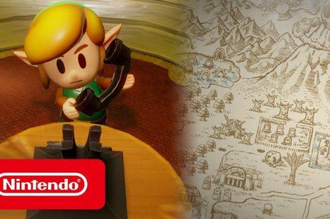 The Legend of Zelda: Link's Awakening Landmarks of Koholint Highlighted in New Video