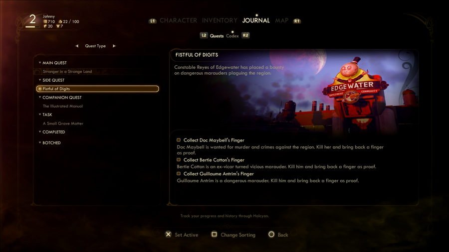 The Outer Worlds Side Quest Guide