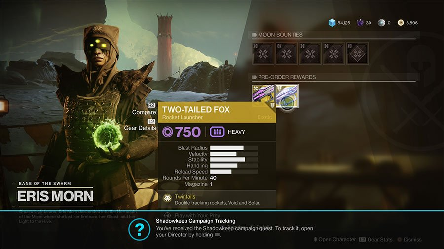 Where To Find Pre-Order Items For Destiny 2 Shadowkeep
