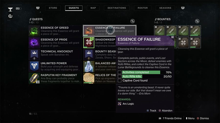 Where To Find The Captive Cord In Destiny 2