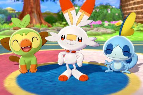Best Starter Pokemon To Choose At Start Of Pokemon Sword & Shield