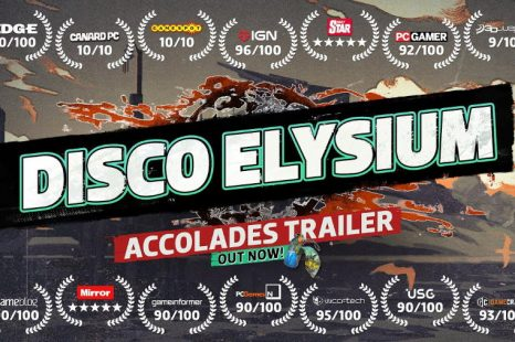 Disco Elysium Gets Accolades Trailer