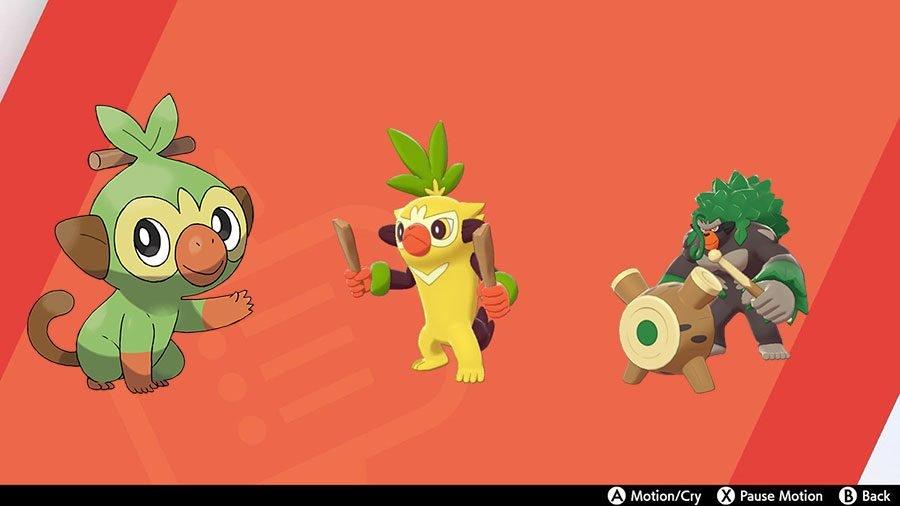 Grookey Evolutions