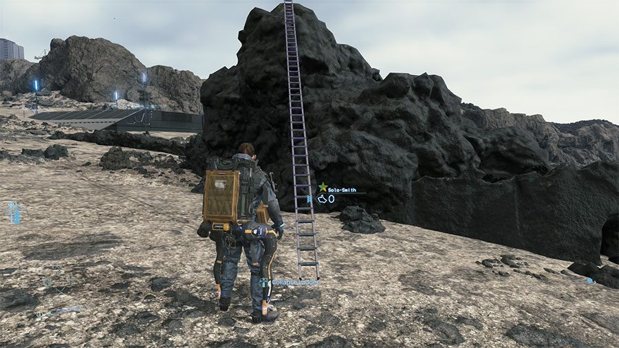 How To Dismantle Ladders In Death Stranding