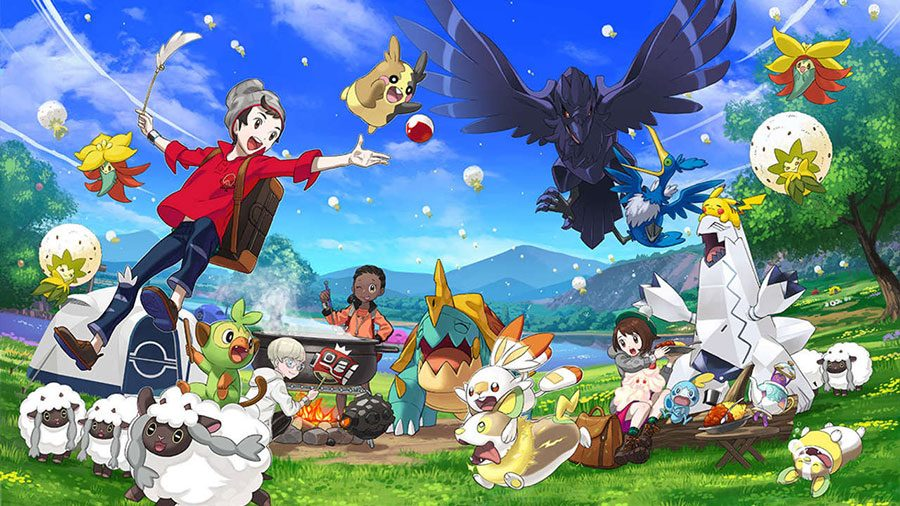 How To Restart A New Game In Pokemon Sword And Shield