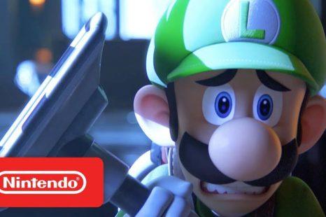 Luigi's Mansion 3 Gets Hotel Getaway TV Spot