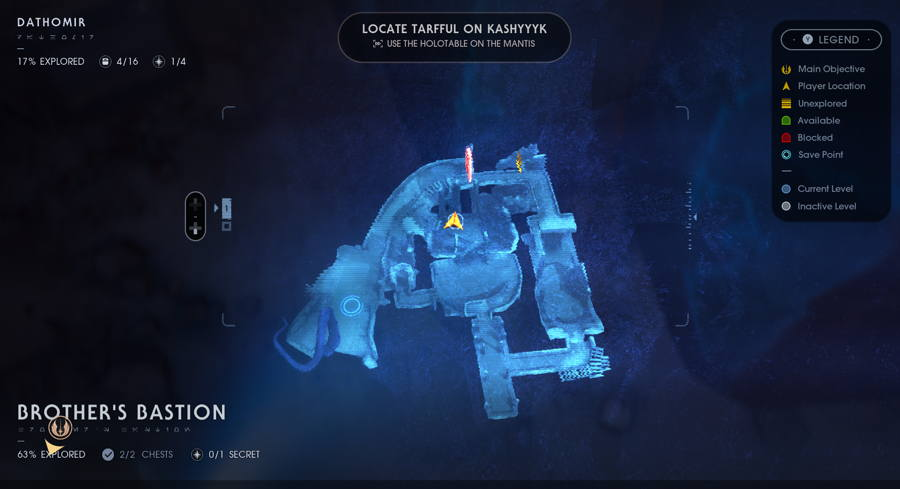 Magus Lightsaber Switch Location