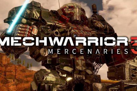 MechWarrior 5: Mercenaries Gets Walkthrough Video