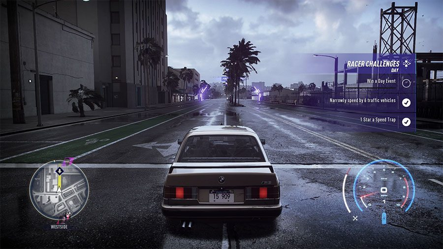 Need For Speed Heat Narrowly Speed By 6 Traffic Vehicles Guide