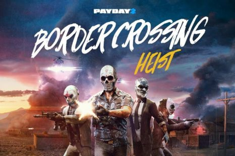 PAYDAY 2: Border Crossing Heist Coming November 7