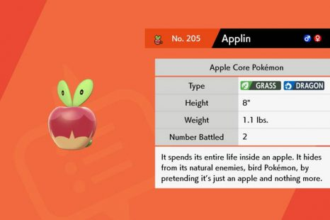 Where To Find Applin In Pokemon Sword & Shield