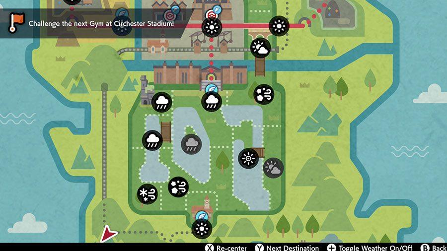 Pokemon Sword & Shield Weather Symbols Guide