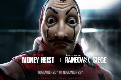 Rainbow Six Siege Money Heist Event Coming November 20