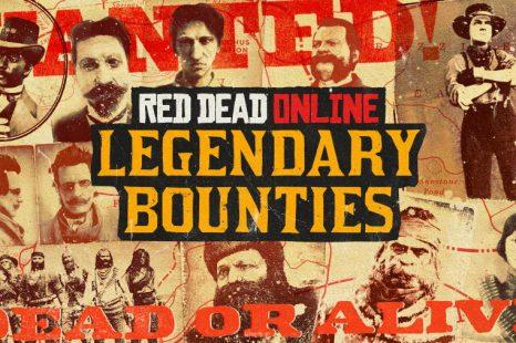 All Legendary Bounties Unlocked in Red Dead Online