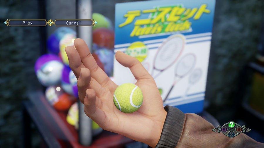 Shenmue 3 Capsule Set Guide - Tennis Set