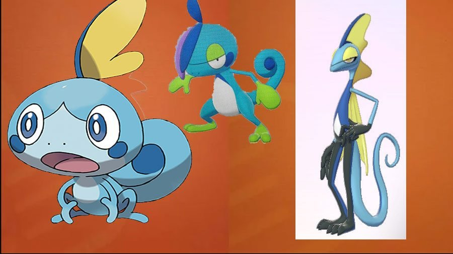 Sobble Evolutions