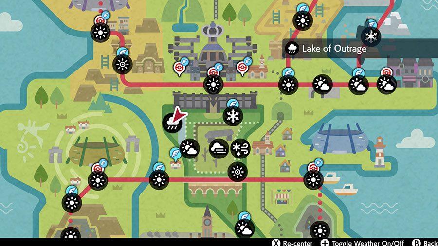 Where To Find Lapras In Pokemon Sword & Shield Location
