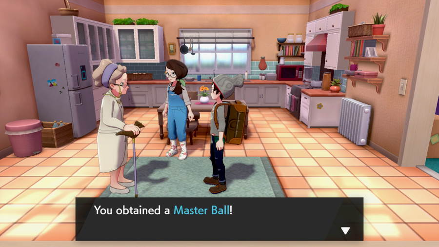 Where To Find The Master Ball In Pokemon Sword And Shield
