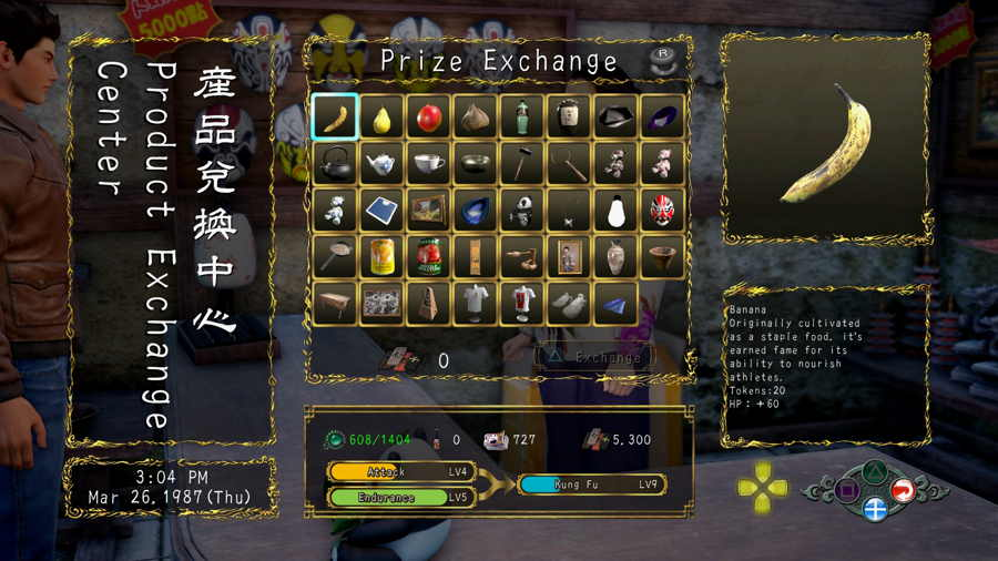 Where To Trade Prize Tokens In Shenmue 3