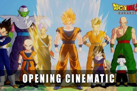 Dragon Ball Z: Kakarot Opening Cinematic Released