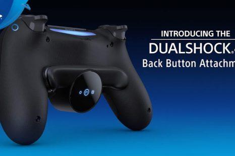 DualShock 4 Back Button Attachment Announced