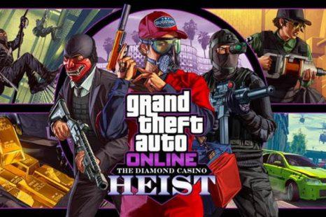 GTA Online The Diamond Casino Heist Now Available