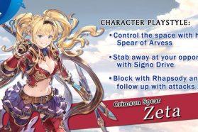 Granblue Fantasy: Versus Gets Zeta Character Trailer