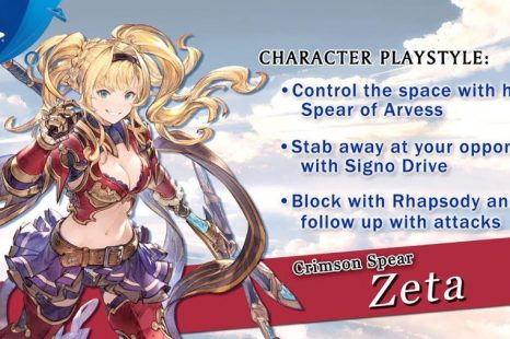 Granblue Fantasy: Versus Gets Zeta Character Trailer
