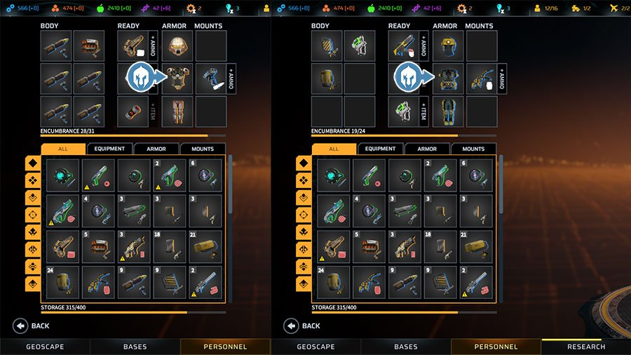 How To Equip Missile Launchers & Mech Arms In Phoenix Point