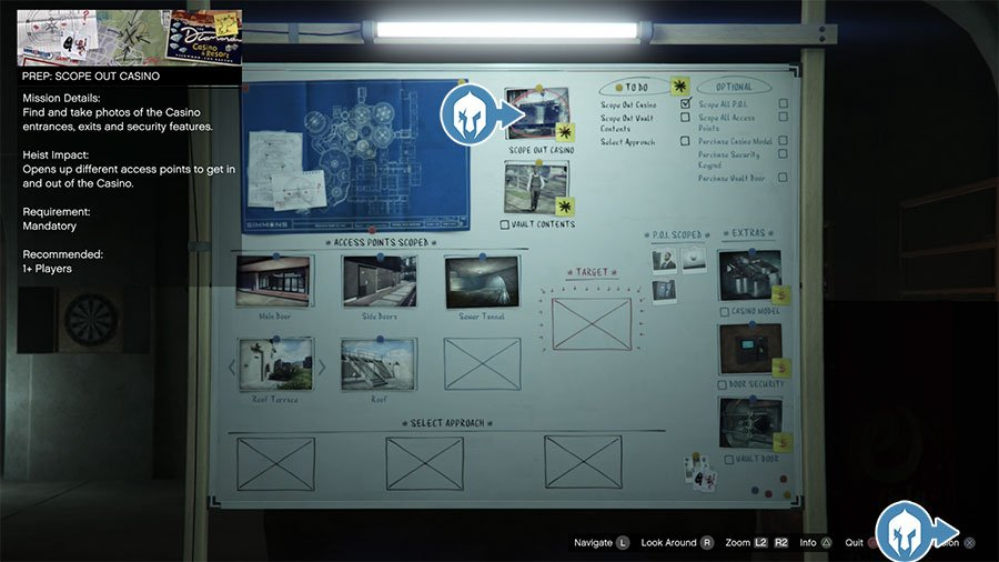 How To Replay Casino Scope Mission In GTA Online