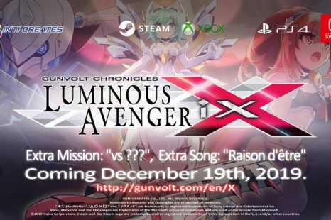 Gunvolt Chronicles: Luminous Avenger iX DLC Detailed