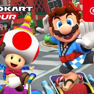 New Year's Tour Coming to Mario Kart Tour
