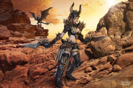 Cosplay Wednesday – Monster Hunter World's Nergigante Armor