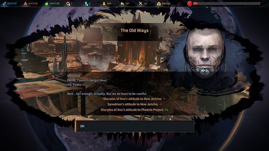 Phoenix Point Choices & Consequences Guide