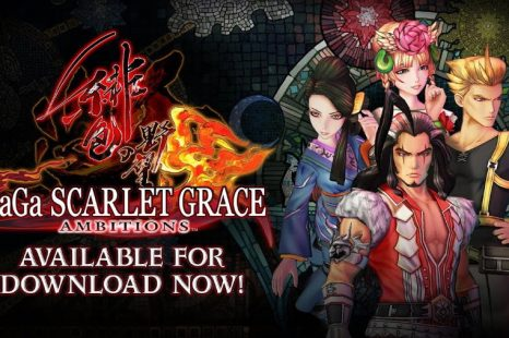 SaGa Scarlet Grace: Ambitions Gets Launch Trailer
