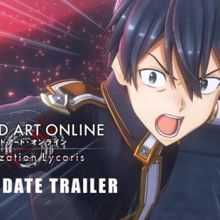 Sword Art Online Alicization Lycoris Launching May 22
