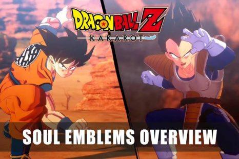 Dragon Ball Z: Kakarot Gets Soul Emblems Overview