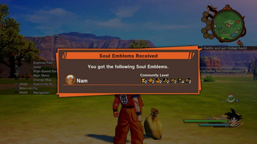 Dragon Ball Z Kakarot Soul Emblem Guide