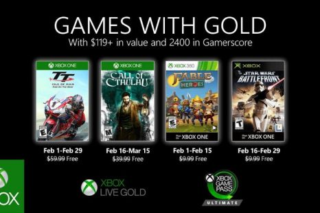 February's 2020 Games with Gold Detailed