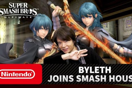 Fire Emblem's Byleth Coming to Super Smash Bros. Ultimate