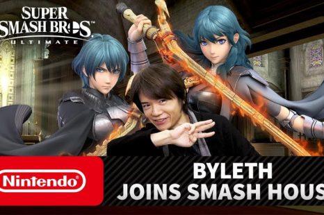 Fire Emblem's Byleth Coming to Super Smash Bros. Ultimate