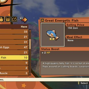 Where To Find Great Energetic Fish In Dragon Ball Z: Kakarot