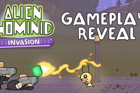 Alien Hominid Invasion Gets Gameplay Reveal