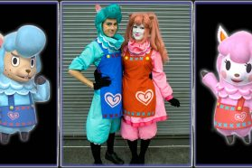 Cosplay Wednesday – Animal Crossing: New Leaf's Cyrus and Reese