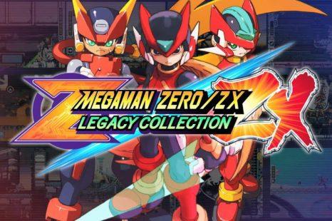 Mega Man Zero/ZX Legacy Collection Gets Launch Trailer